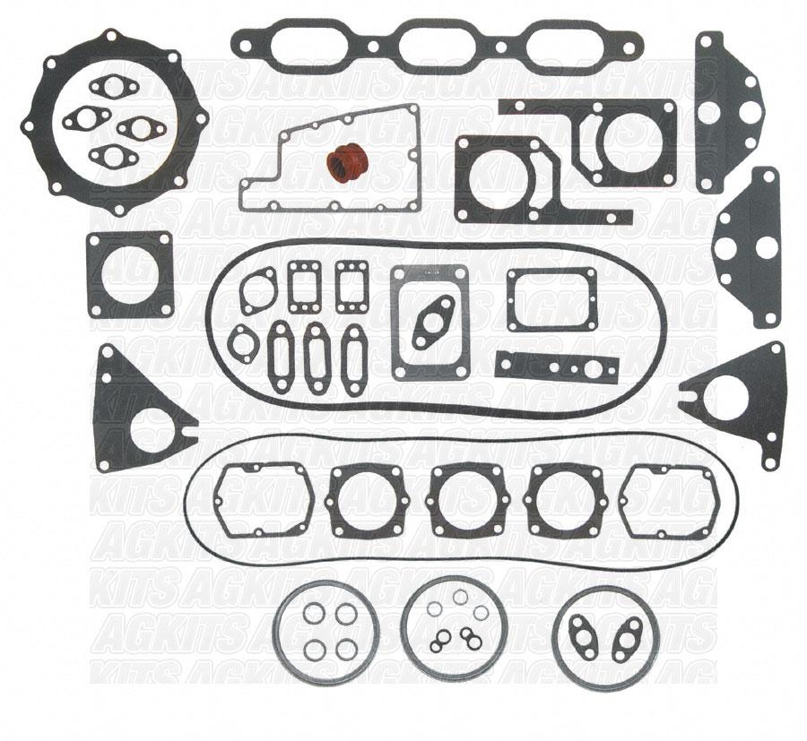detroit diesel 371  6v71 w  oe rub  vc high block 5196380