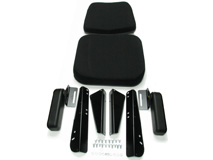 White Tractor Seats and Upholstery Kits