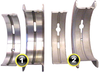 Ford Main Bearing Diagram