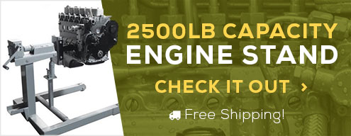 2500lb Capacity Engine Stand, Check it out!