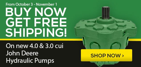 Buy now get free shipping on new JD 4.0 and 3.0 cui Hydraulic Pumps