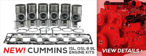 New Cummins ISL Engine Kits