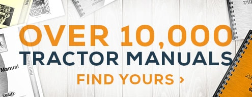 Over 10,000 Tractor Manuals, click to find yours