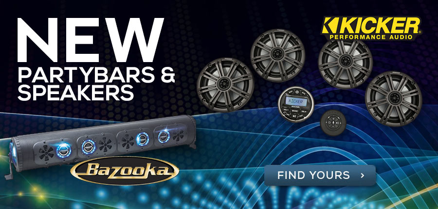 New Speakers and Soundbars! Click to Shop Online!
