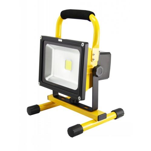 12 Watt Rechargeable Portable Led Work Light For Workshop: LED Shop Light, Rechargeable, 20 Watt HT8302062