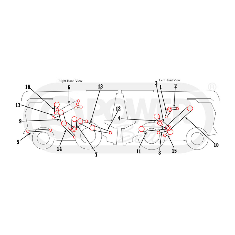 ford 4500 backhoe diagram