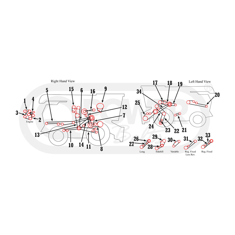 Massey Ferguson Power Steering Diagram on hydraulics21