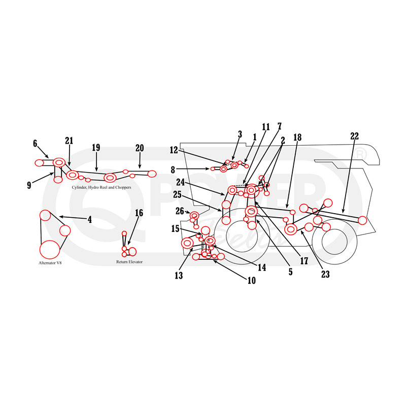ih tractor parts diagram  diagrams  wiring diagram images