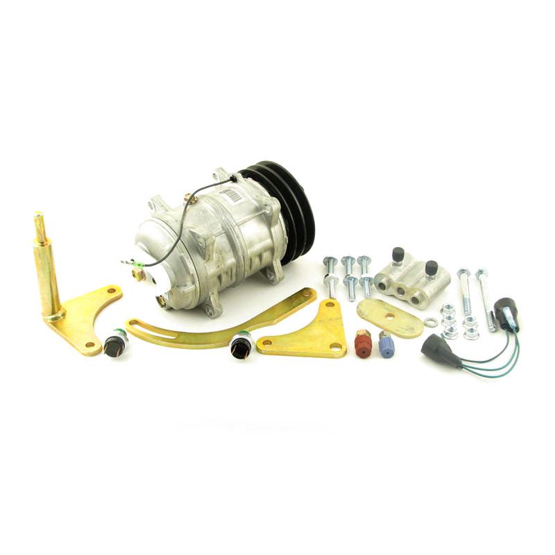 John Deere Tractor Air Conditioners : John deere air conditioner compressor conversion kit