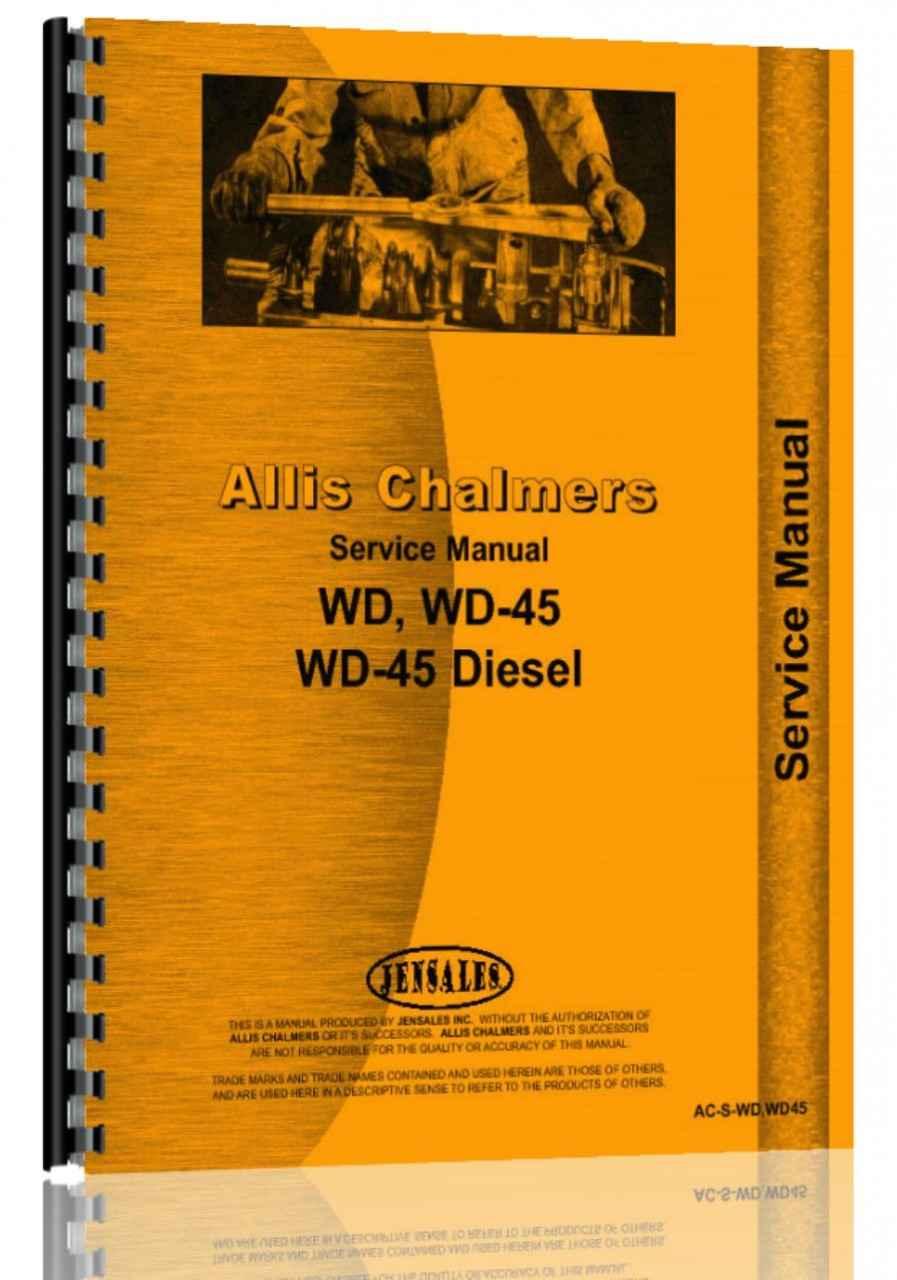 allis chalmers wd tractor service manual rh agkits com allis chalmers wd repair manual allis chalmers wd repair manual