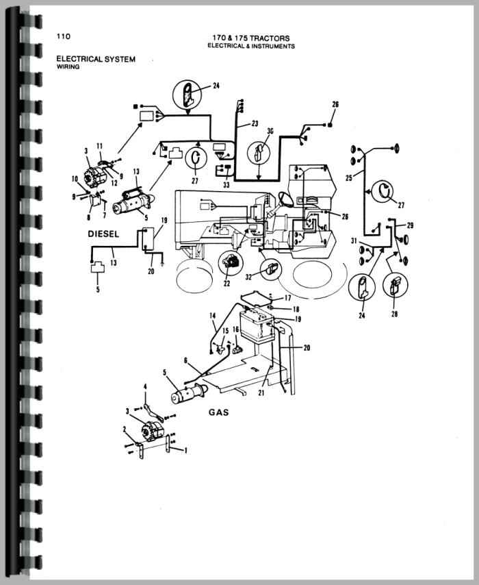 allis chalmers wiring diagrams lull wiring diagram wiring