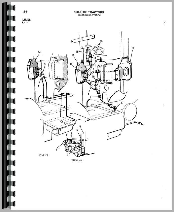 allis chalmers transmission diagram