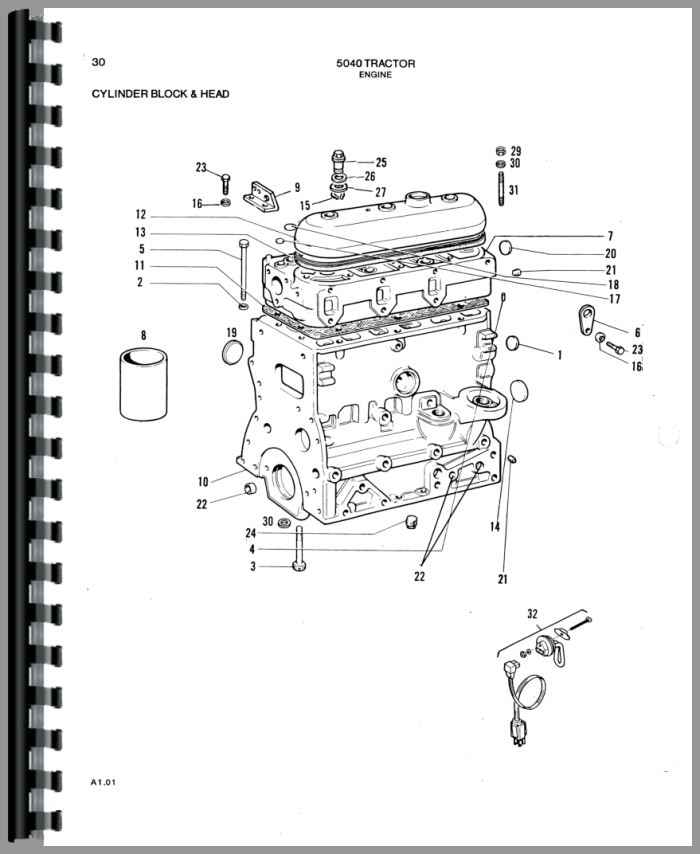 allis chalmers engine diagram