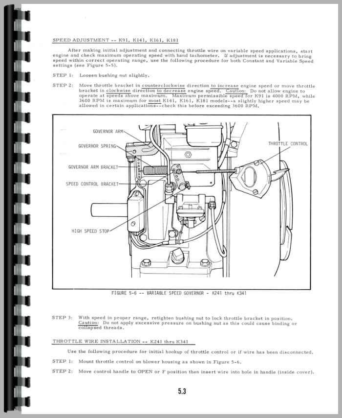 Allis Chalmers 716 Engine Service Manual