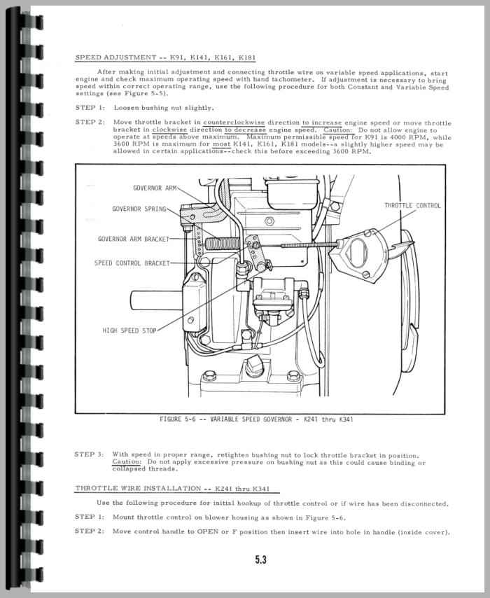 Allis Chalmers 716h Engine Service Manual