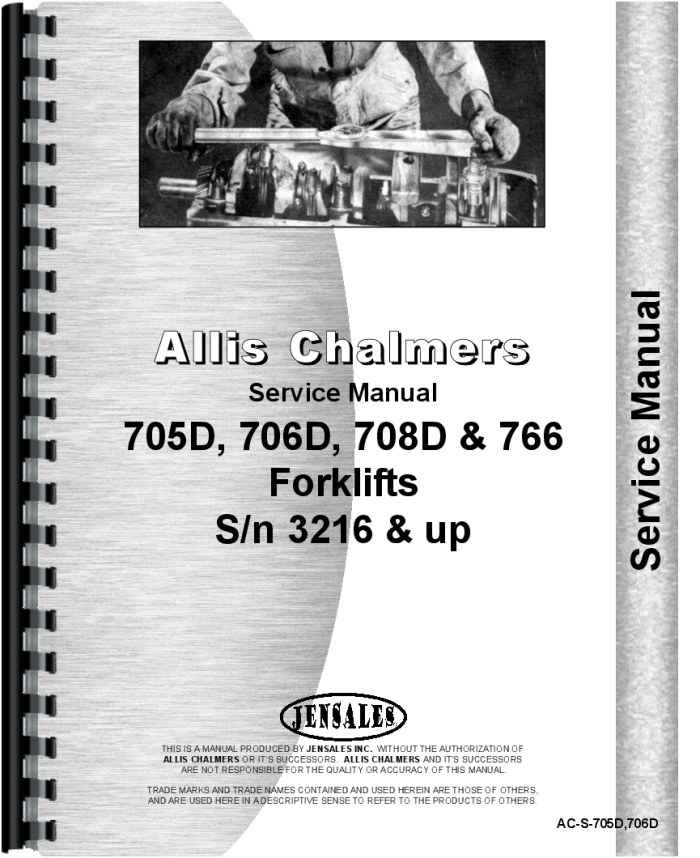 allis chalmers 766 forklift service manual rh agkits com Allis Chalmers Fork Lift History Allis Chalmers Forklift Specifications