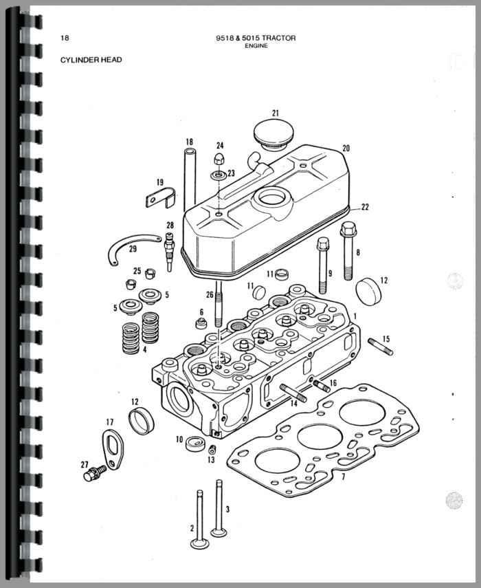 Allis Chalmers 9518 Tractor Parts Manual