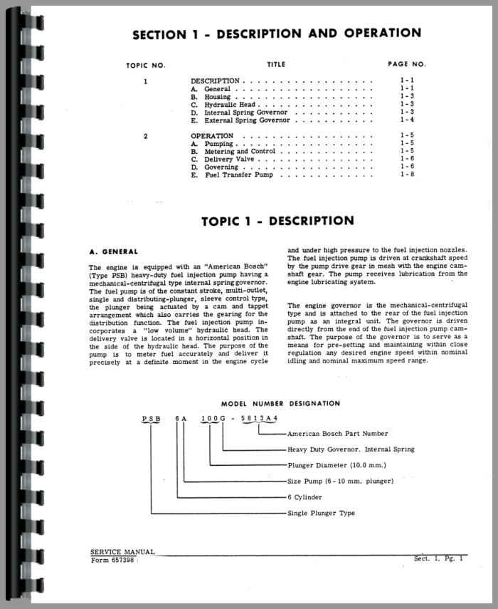 American Bosch PSB Injection Pump Service Manual (HTAC-SAMBOSDSLP)