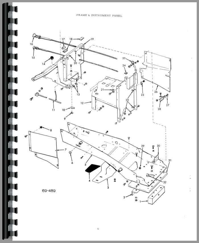 allis chalmers b110 lawn  garden tractor parts manual htacpb110b112
