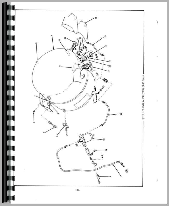 allis chalmers d15 tractor parts manual
