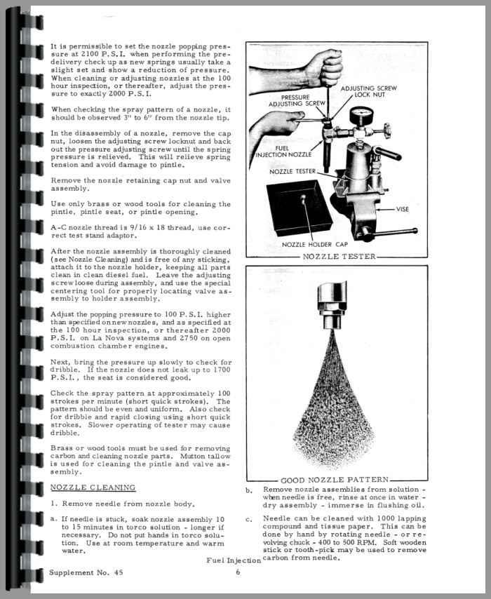 Allis Chalmers D19 Injection Pump Service Manual (HTAC-SFUELINJ)