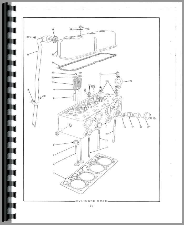 allis chalmers hd6 crawler parts manual