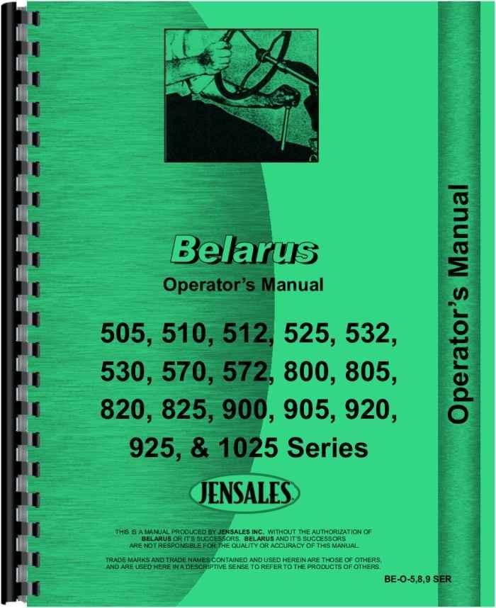 belarus 925 tractor operators manual rh agkits com Circuit Schematics Ford Diagrams Schematics