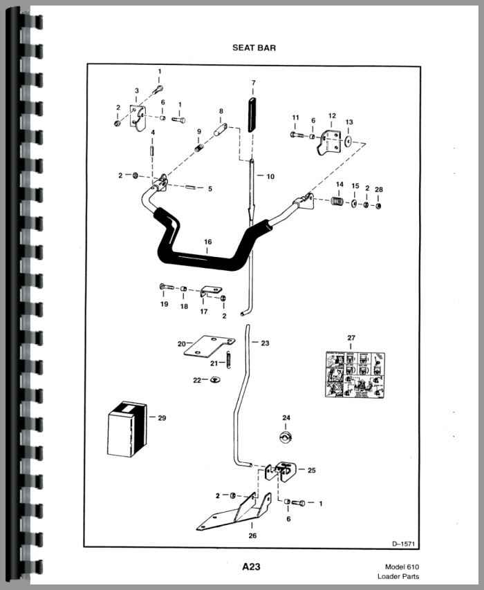bobcat 610 skid steer loader parts manual bobcat 2200 parts diagram bobcat 610 parts diagram #10