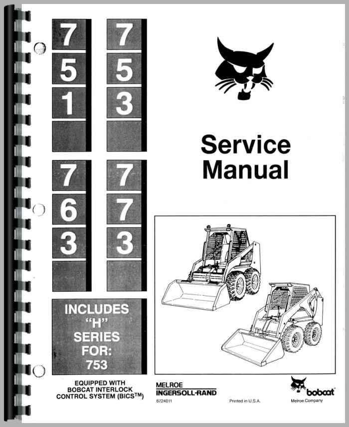 Bobcat 753 SkidSteer Manual_81674_2__29864 bobcat 753 parts diagram model schematic diagram