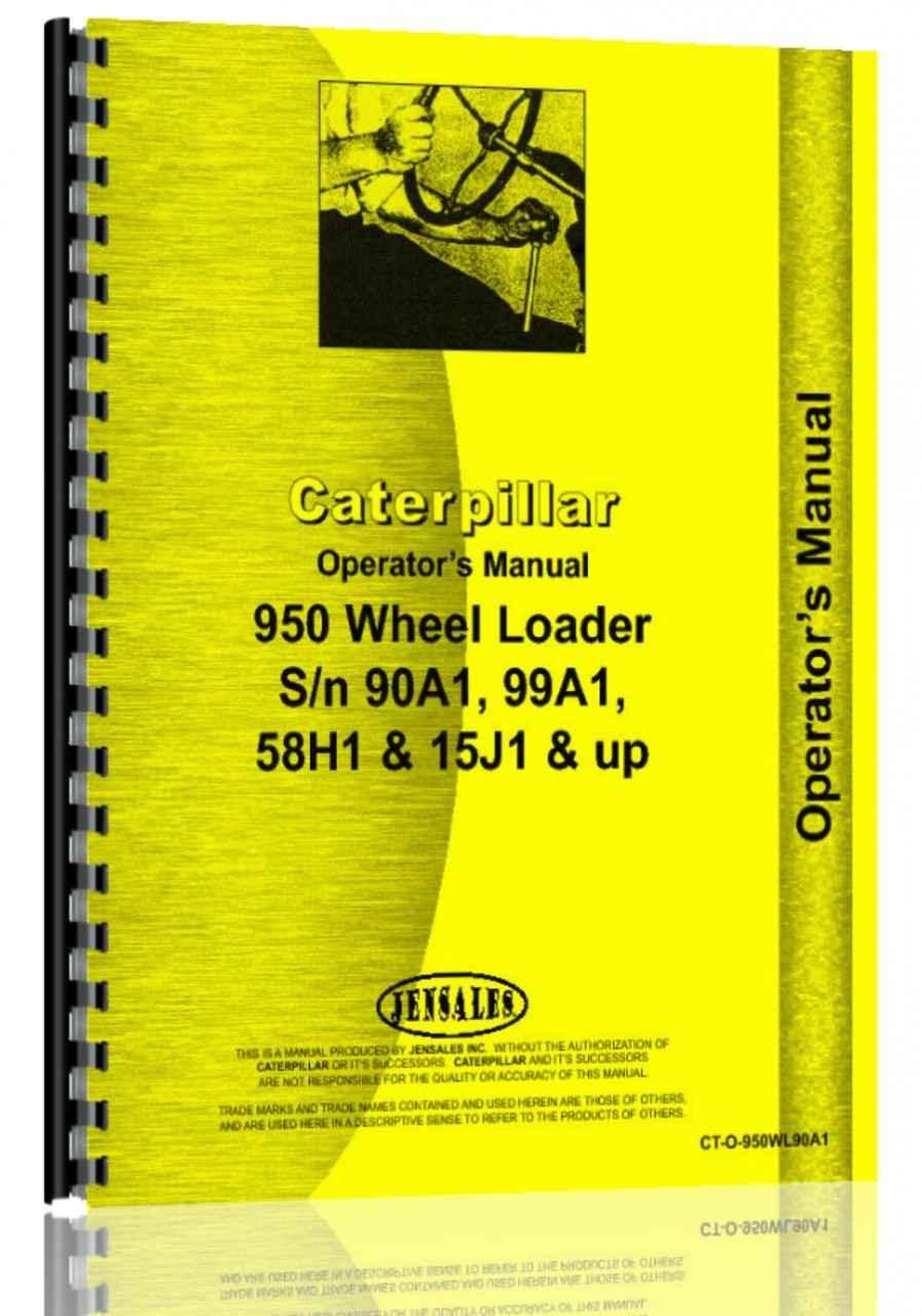 caterpillar 950 wheel loader operators manual rh agkits com caterpillar 930 wheel loader service manual caterpillar 950g wheel loader service manual