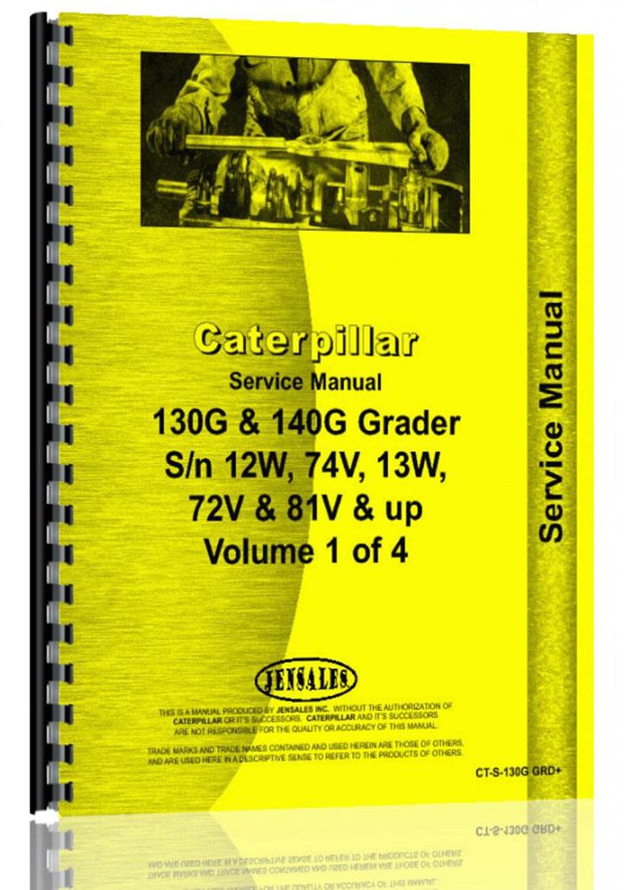 Caterpillar 140g Grader Service Manual