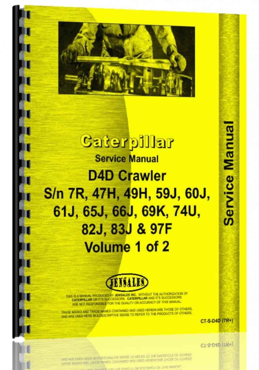 caterpillar d4d crawler service manual rh agkits com Caterpillar D4D Parts Caterpillar D4D Dozer Specifications