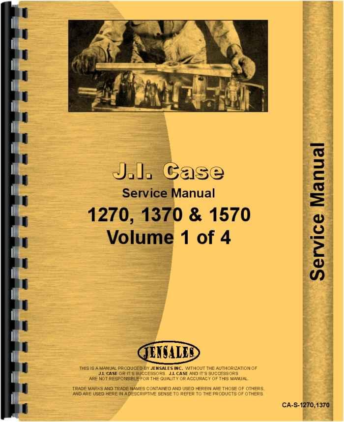 case 1370 tractor service manual rh agkits com Case 2290 Case 2090