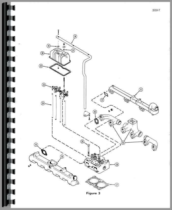 Case 1470 Tractor Service Manual