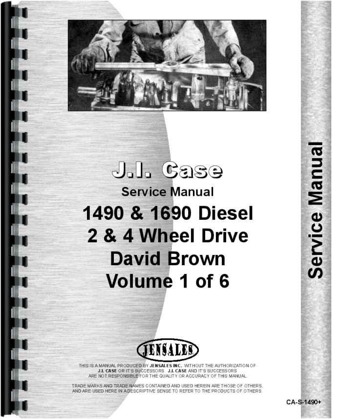case 1490 tractor service manual rh agkits com case service manuals online case service manual 87630273