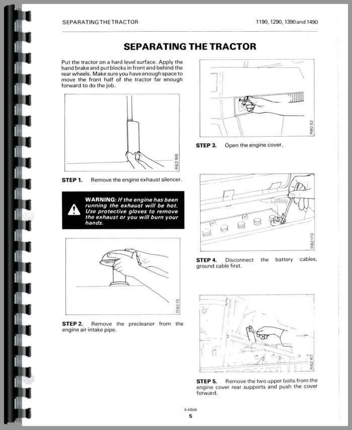 case 1490 tractor service manual Case IH Tractor Diagrams 1490 case tractor wiring diagrams