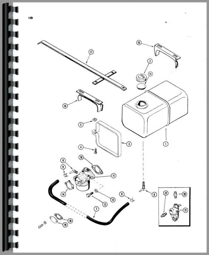 case 190 lawn  u0026 garden tractor parts manual