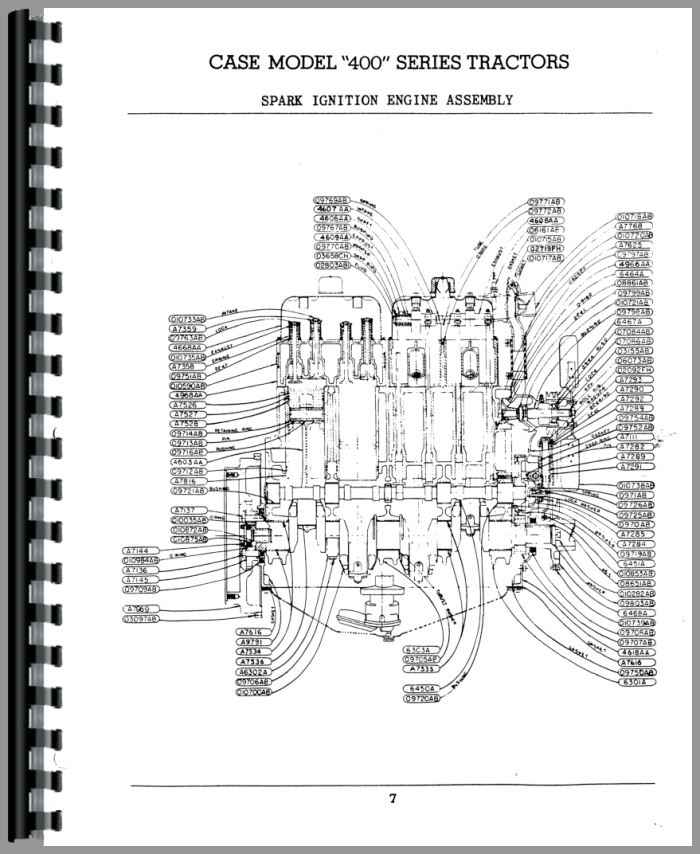 case 400 tractor parts manual rh agkits com case ih parts manual 530 case tractor parts manual