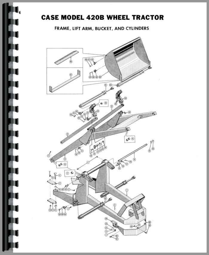 Case 420b Tractor Wiring Diagram - Wiring Diagram •
