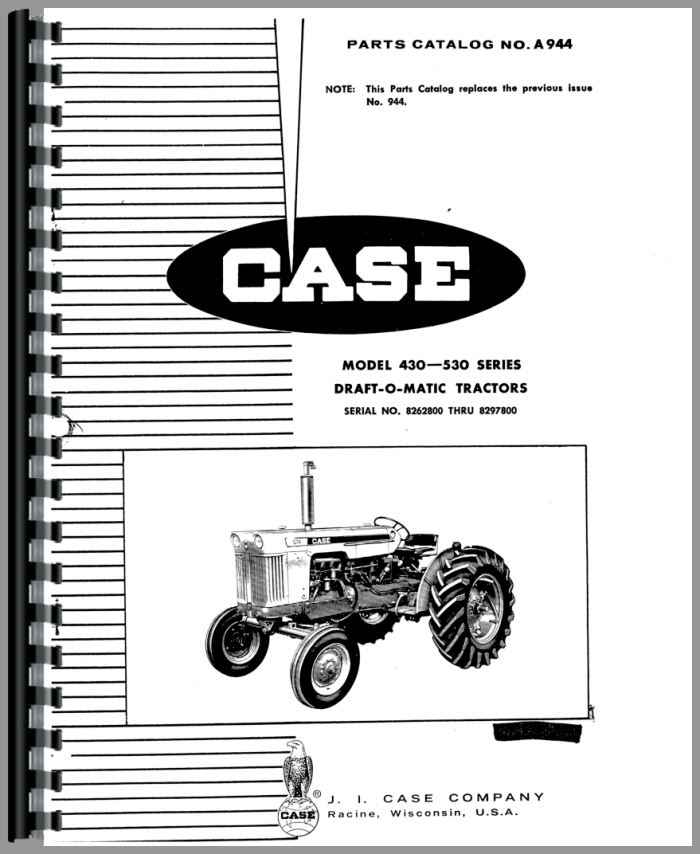 Case Tractor Manual