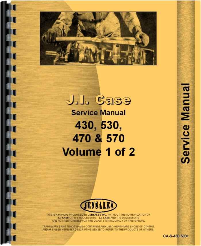 case 530 tractor service manual rh agkits com case service manual pdf case service manual pdf