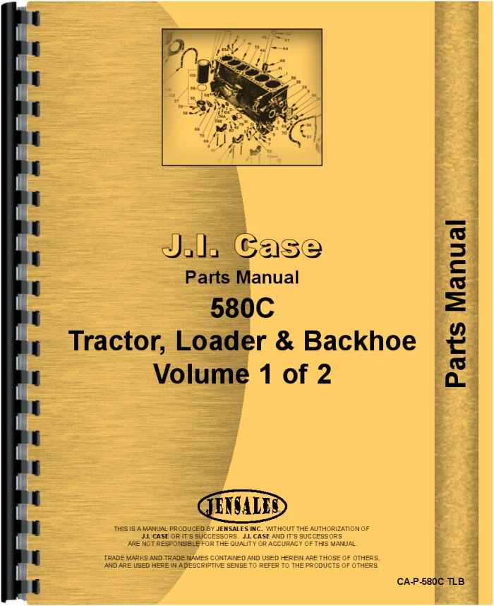 76 Parts For 580c Case Backhoe Manual Guide