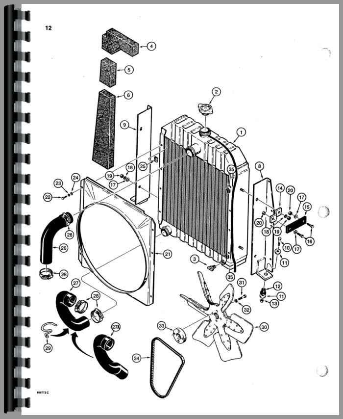 Case 580d Tractor Loader Backhoe Parts Manual