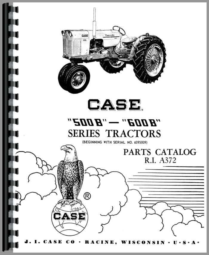 Case Tractor Parts Diagrams : Case b tractor parts manual
