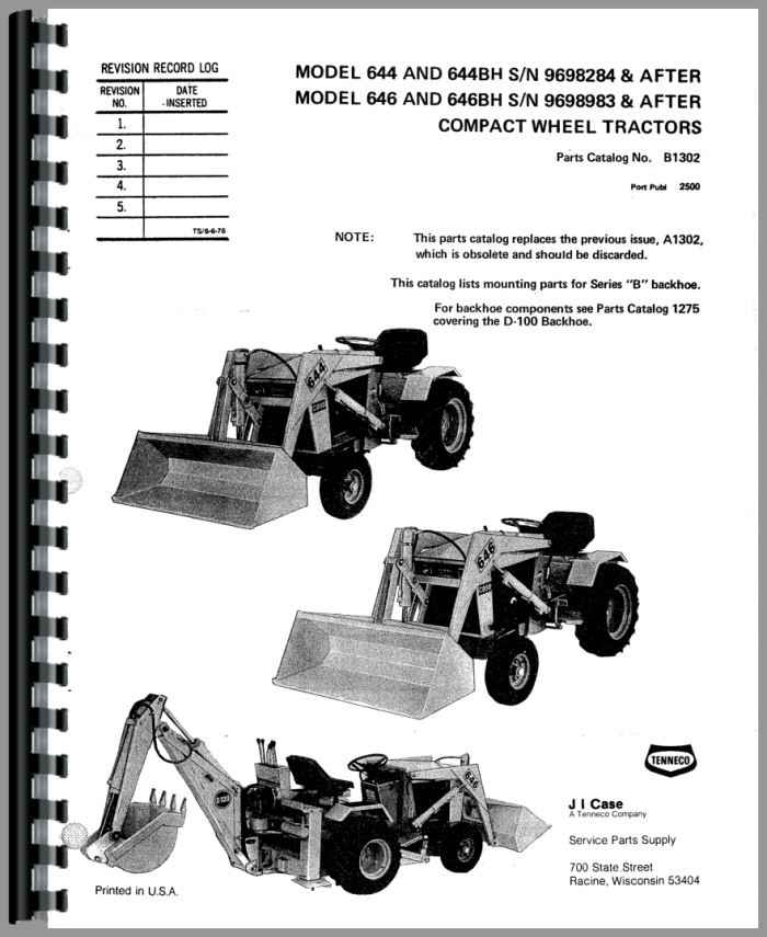 case 646 lawn garden tractor parts manual rh agkits com 446 case garden tractor manual case garden tractor manuals