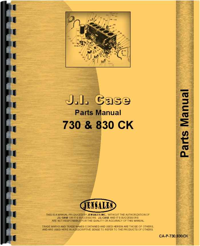 case 840 tractor parts manual rh agkits com Old Case IH International Harvester Company