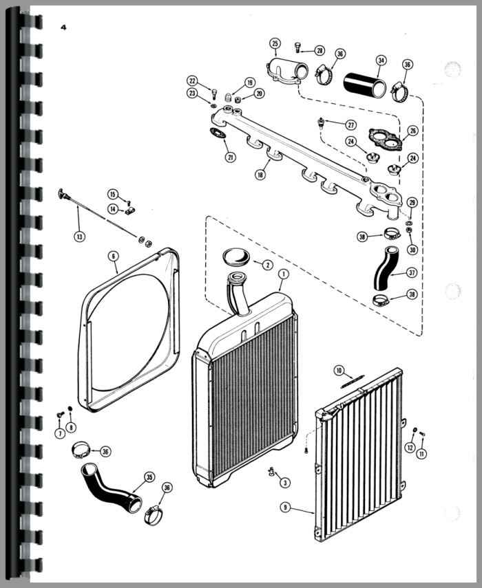 case 930 tractor parts manual rh agkits com Case 530 Wenger's Tractor Parts Sheet Metal Case 800 Tractor