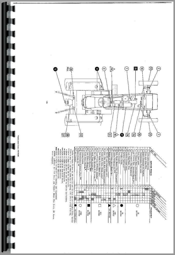 Walts Tractor Parts : Tractor parts combine manuals truck
