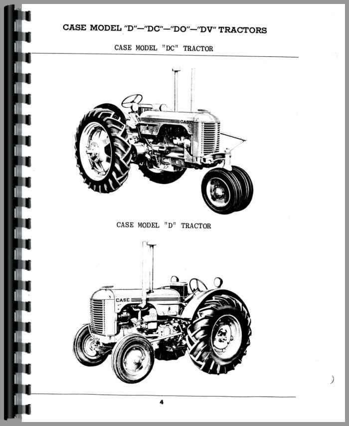 Case Tractor Parts Diagrams : Case dc tractor parts manual
