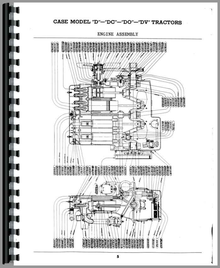 case dc tractor parts manual Lister Petter Engine Parts Diagram Case Engine Parts Diagram #19